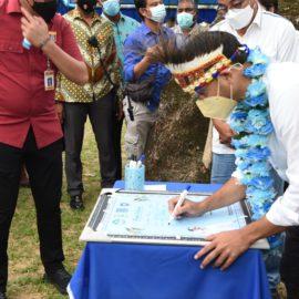 Kunjungi SMK di Kota Sorong, Mendikbud Tekankan Pentingnya Kerja Sama Berkelanjutan dengan Industri